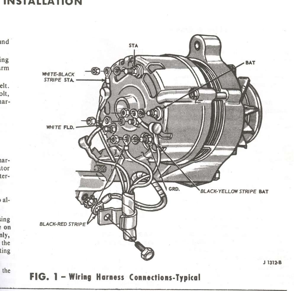 medium resolution of 1965 ford alternator wiring wiring diagram split 1965 ford mustang alternator wiring 1965 ford alternator wiring