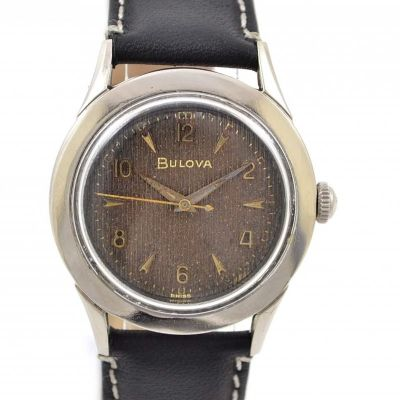 Pre-Owned and Vintage Bulova Manual Winding Midsize Watch