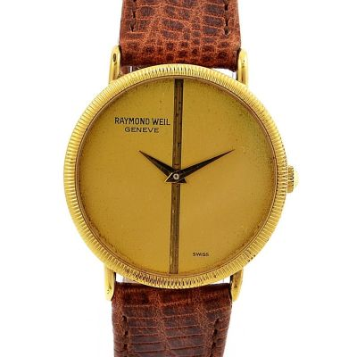 Pre-Owned Raymond Weil Geneve Manual Winding Midsize Watch 7009