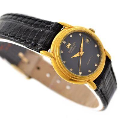Vintage Bulova Accutron Dual Day Mens Stainless Steel Quartz Watch