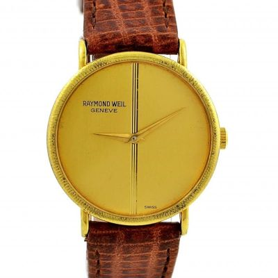 Pre-Owned Raymond Weil Geneve Winding Midsize Watch