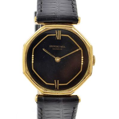 Pre-Owned Raymond Weil Geneve Manual Winding Midsize Watch 7036