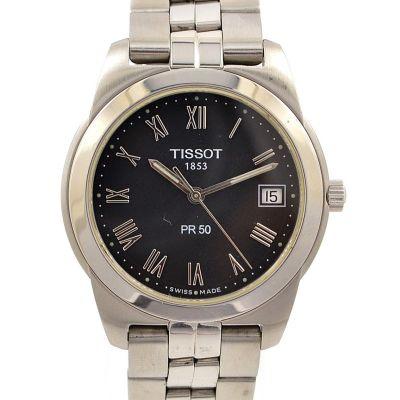 Tissot Pr50 Date Stainless Steel Quartz Men's Watch