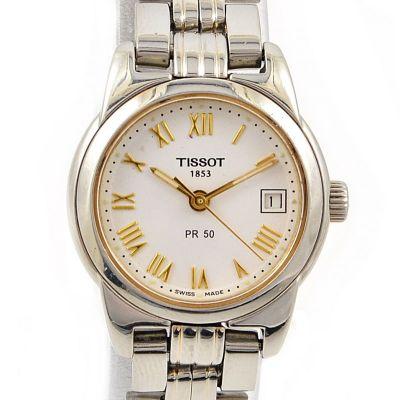 Pre-Owned Tissot PR 50 Date Quartz Ladies Watch J326/426K