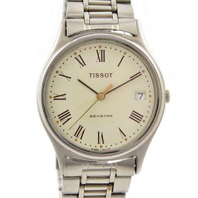 Pre-Owned Tissot Seastar Date Quartz Midsize Watch B985A/995A