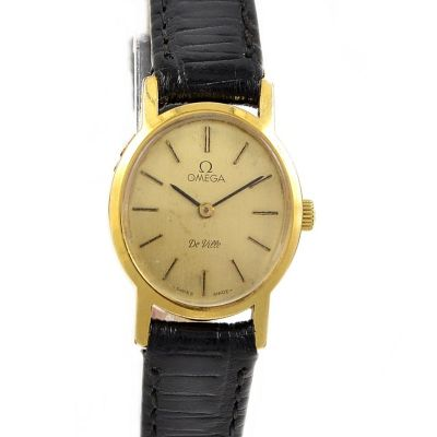 Omega De Ville Cal.625 Gold plated Hand wind Ladies Watch