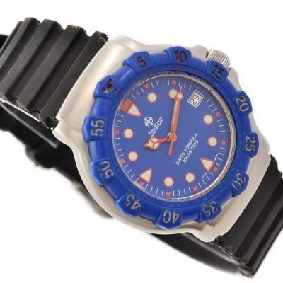 vintage retro zodiac swiss formula watch