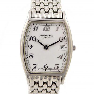 Vintage Raymond Weil Toccata 5573 Stainless Steel Midsize Watch