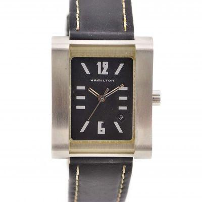 Vintage Hamilton 000032 Quartz Stainless Steel Midsize Watch