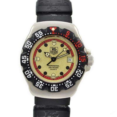 Vintage Tag Heuer Formula 1 Series 371.508 Quartz Ladies Watch 1990