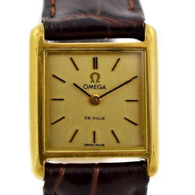 Pre-Owned Omega De Ville Manual Winding Ladies Watch 511.0455