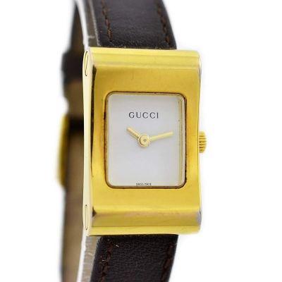 Vintage Gucci 2300L Ladies Quartz Gold Plated Watch womens