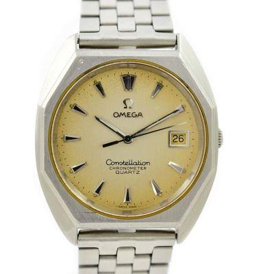 Vintage Omega Constellation Chronometer Cal.1343 Quartz Mens Watch retro