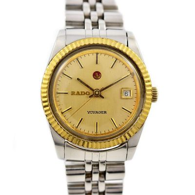 Pre-Owned Rado Voyager Date Automatic Ladies Watch 561.4018.4 1990
