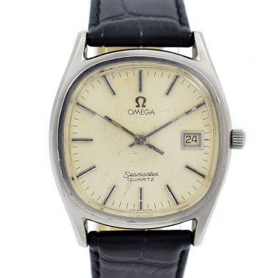 Pre-Owned and Collectable Omega Seamaster Cal.1342 Quartz Mens Watch ST 196.0150 1979