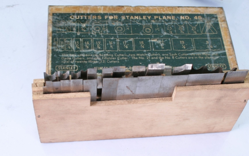 Stanley 45 Cutters For Sale