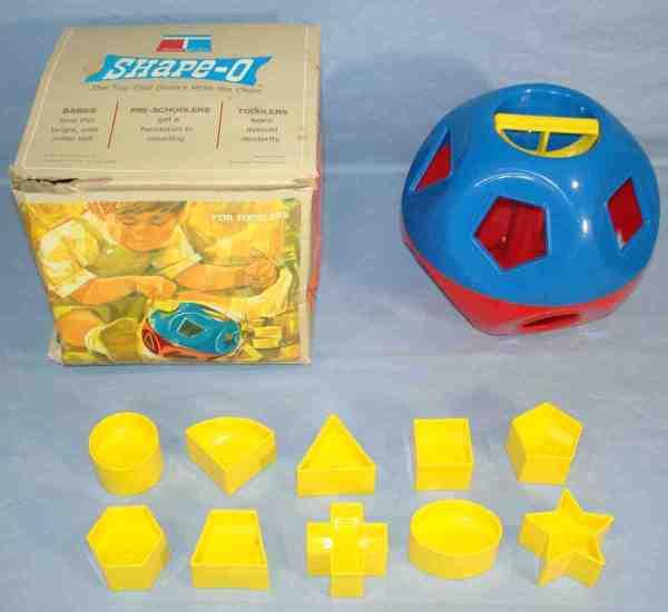 1968 Dart Industries Tupperware Shape- Toy Ball