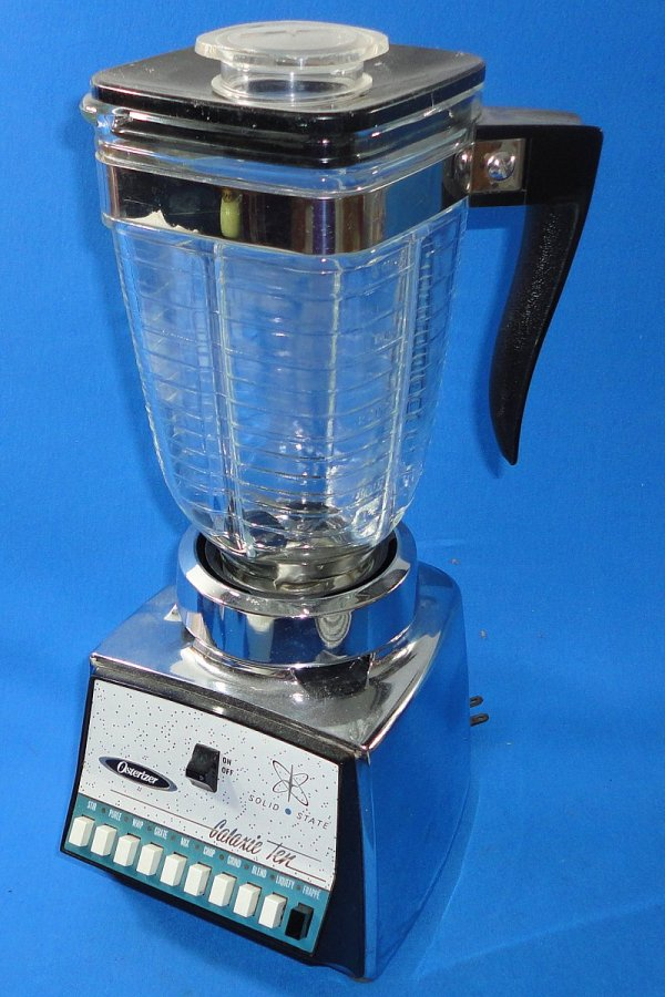 Osterizer Galaxie Ten Speed Stainless Steel Solid State Commercial Blender - Vintage-toys