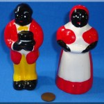 Vintage Ceramic Negro Salt Pepper Shakers Uncle Mose Aunt Jemima Black Americana Vintagetoys Com Item 31259