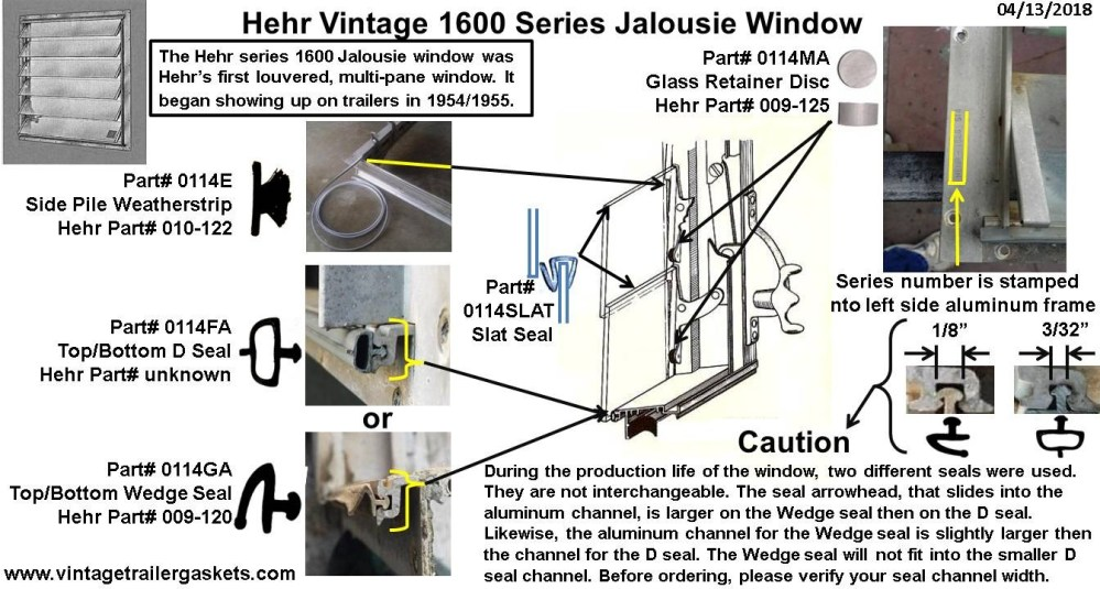 medium resolution of gaskets seals and rubber for vintage hehr and woodlin windows diagrams likewise rv travel trailer water plumbing diagram on scamp