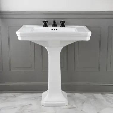 pedestal sinks vintage tub bath