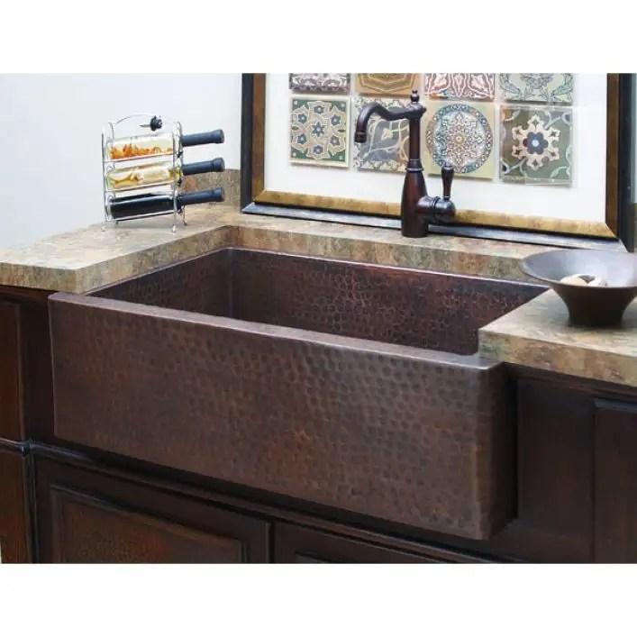 hampton 33 inch apron farmhouse sink antique
