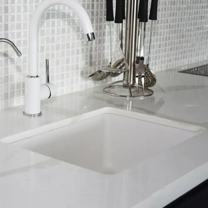 24 inch undermount or drop in fireclay sink white