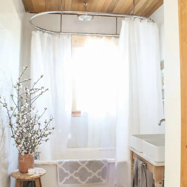 clawfoot tub oval shower enclosure 30 x 72 inch chrome