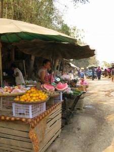 Market stalls in Xia Men