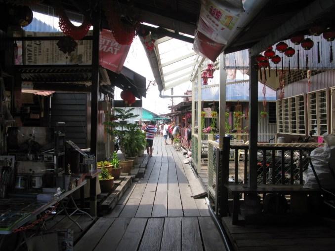 Chinese clan jetty, Penang