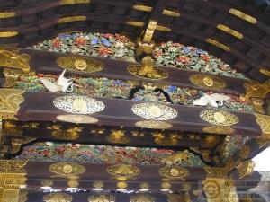 Carving at Nishihonganji temple