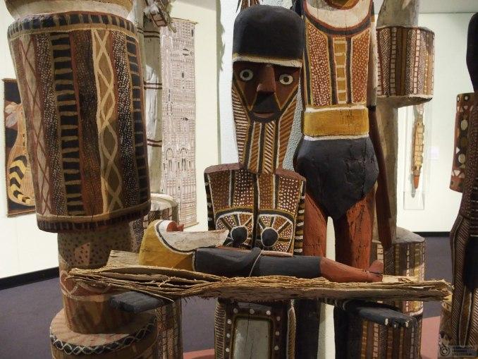 Aboriginal art in the museum
