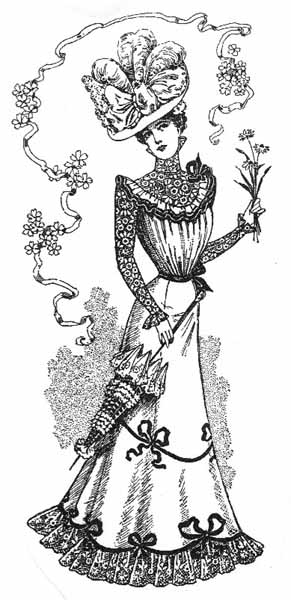 1899-1905: Turn of the Century, Gibson Girl, Fashions