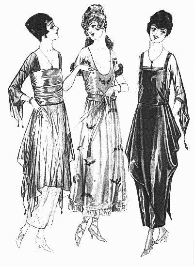 Vintage Victorian: 1910s Evening Dress