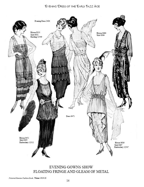 1920s Evening Dress, jazz age/prohibition/gatsby era