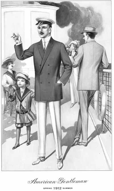 vintage victorian titanic men