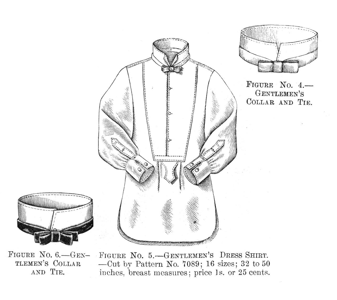 VV: 1880s Gentlemen's Dress