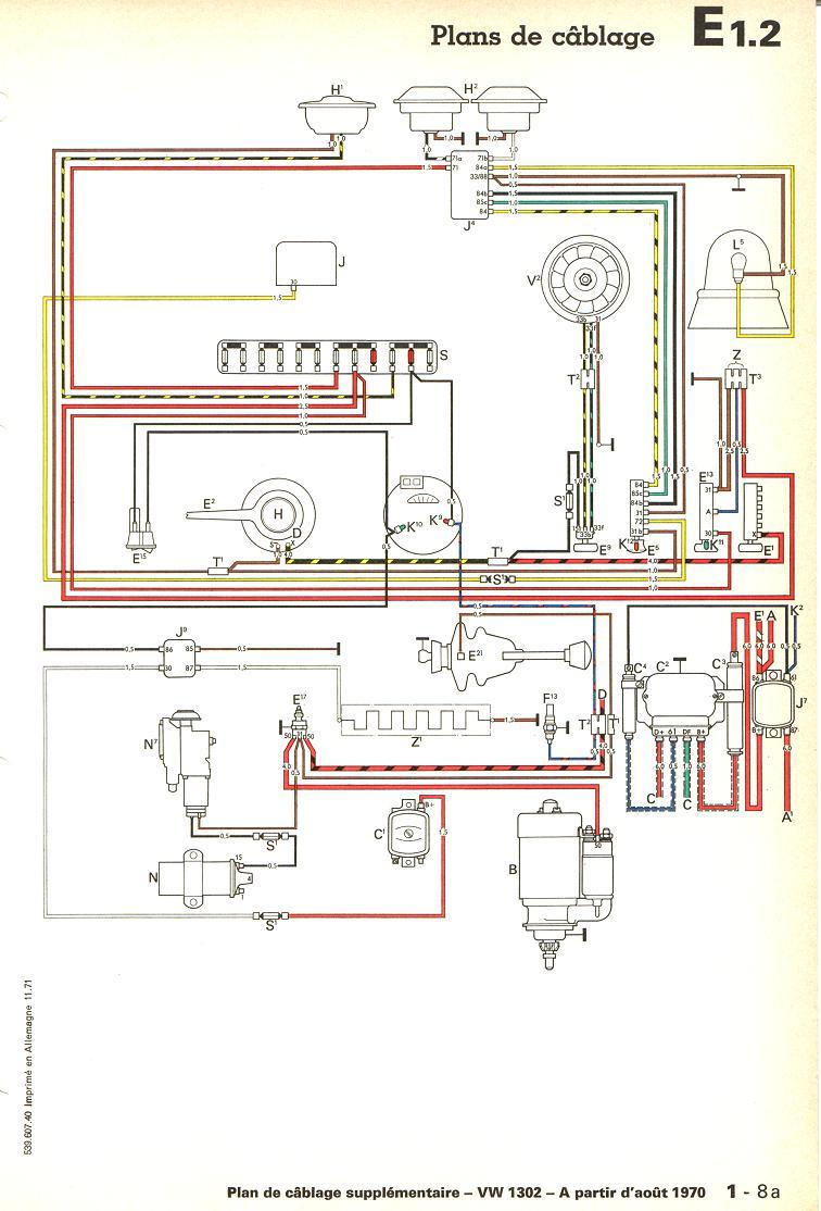 vw voltage regulator wiring diagram coleman pop up camper vintage club de france - cox 1302