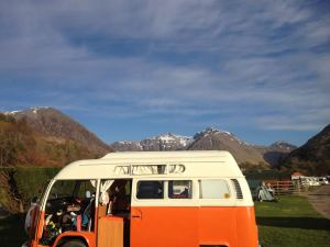 Vintage VW Campers are ready for adventure