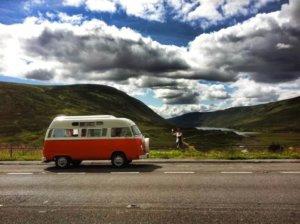 Heather & Lola VW Camperhire Scotland