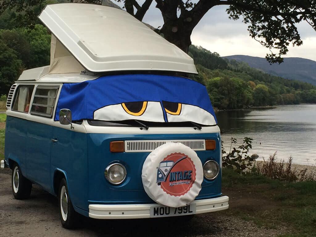 Ziggy at Loch Earn