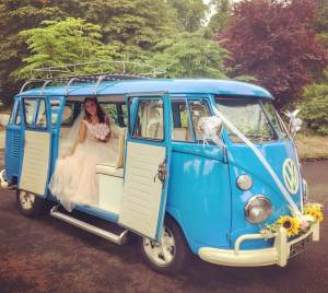 Meg Vintage VW Campers Wedding Microbus