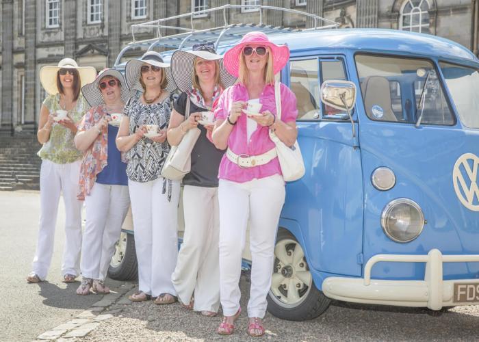 Ladies who lunch in Edinburgh Hopetoun House
