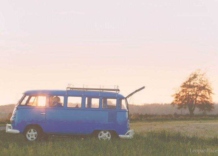 Vintage VW Campers Meg by Lady Leopardface