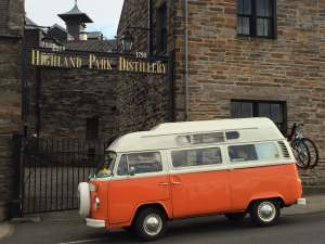 Vintage VW Campers at Highland Park
