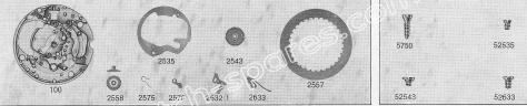 A Schild AS 1983 watch date part