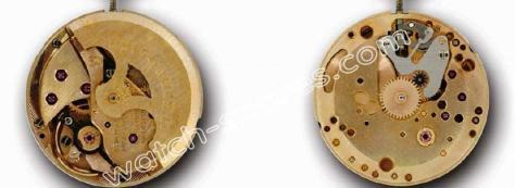 Omega 672 watch movements