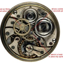 Pocket Watch Movement Diagram Rotork Wiring 3000 The Gallery For Gt Gears Drawing