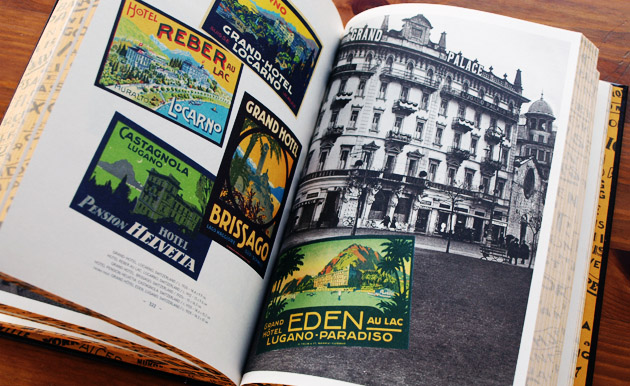 Picture of the book World Tour - Vintage Hotel Labels from the Collection of Gaston-Louis Vuitton