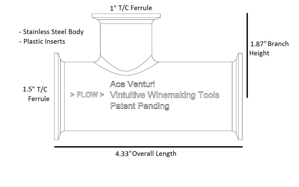 hight resolution of 1 5 ace venturi plastic inserts